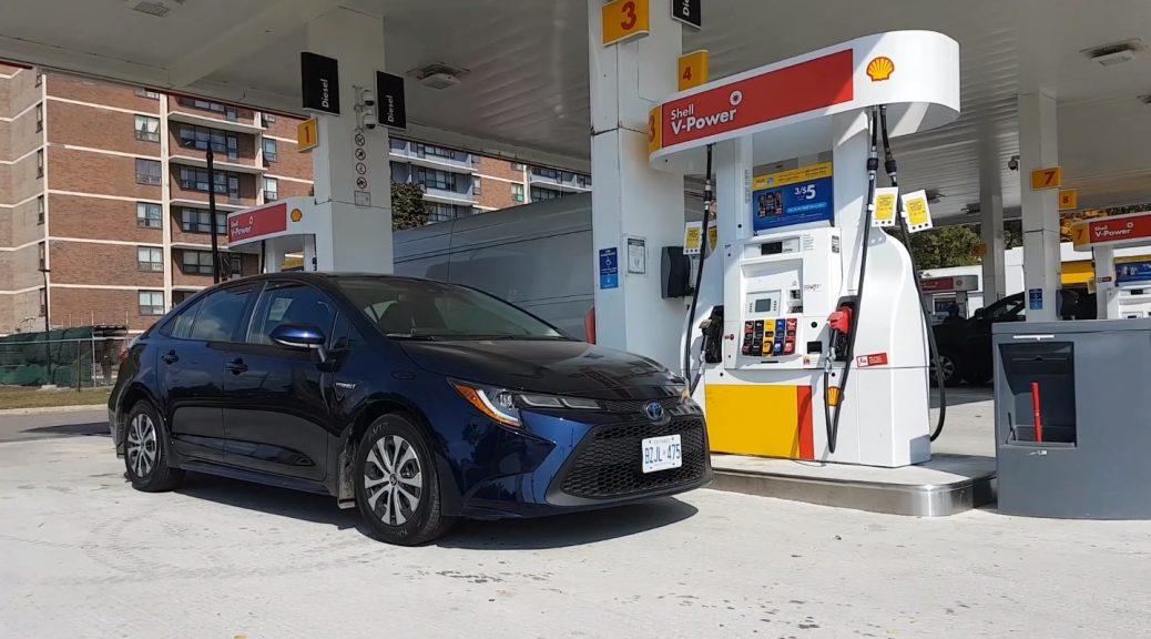 Toyota Corolla Hybrid Fuel Economy